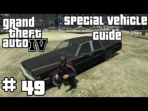 GTA IV: SPECIAL VEHICLE GUIDE - ЧЁРНЫЙ EMPEROR С ОТБЛЕСКОМ