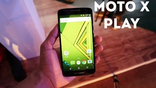 Motorola Moto X Play Hands On Review And First Look (India)