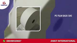 Sanitary Pads Machine and Raw Material Manufacturer