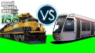 Train VS Train - រថភ្លើ់ងប៉ះរថភ្លើង - GTA 5 Redux Real Life Ep188 Khmer VPROGAME