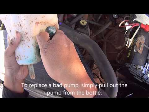 Replacing A Bad Windshield Washer Pump 1994 2001 Dodge