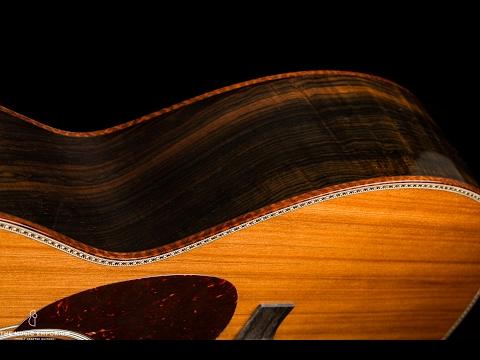Santa Cruz OM Custom Redwood & Brazilian Rosewood @ The Music Emporium