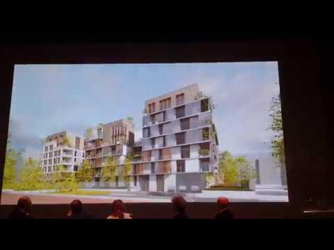 Vues d 39 architectes de la partie 1 de l 39 coquartier de l 39 arsenal rueil malmaison youtube - Architecte rueil malmaison ...