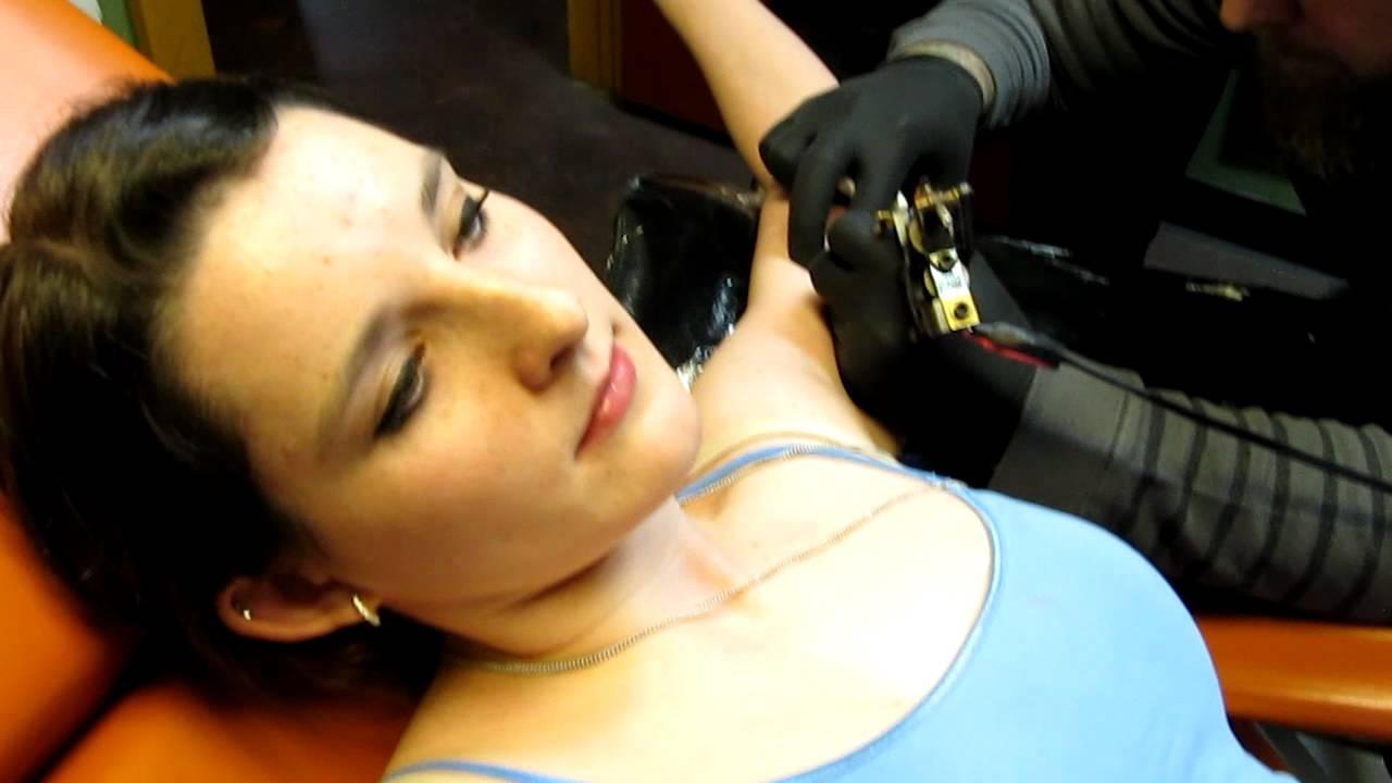 Getting My Inner Bicep Tattoo Youtube