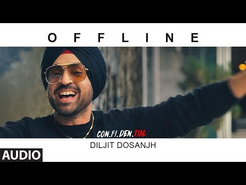 Offline Full Audio Song| CON.FI.DEN | Diljit Dosanjh | Latest Song 2018