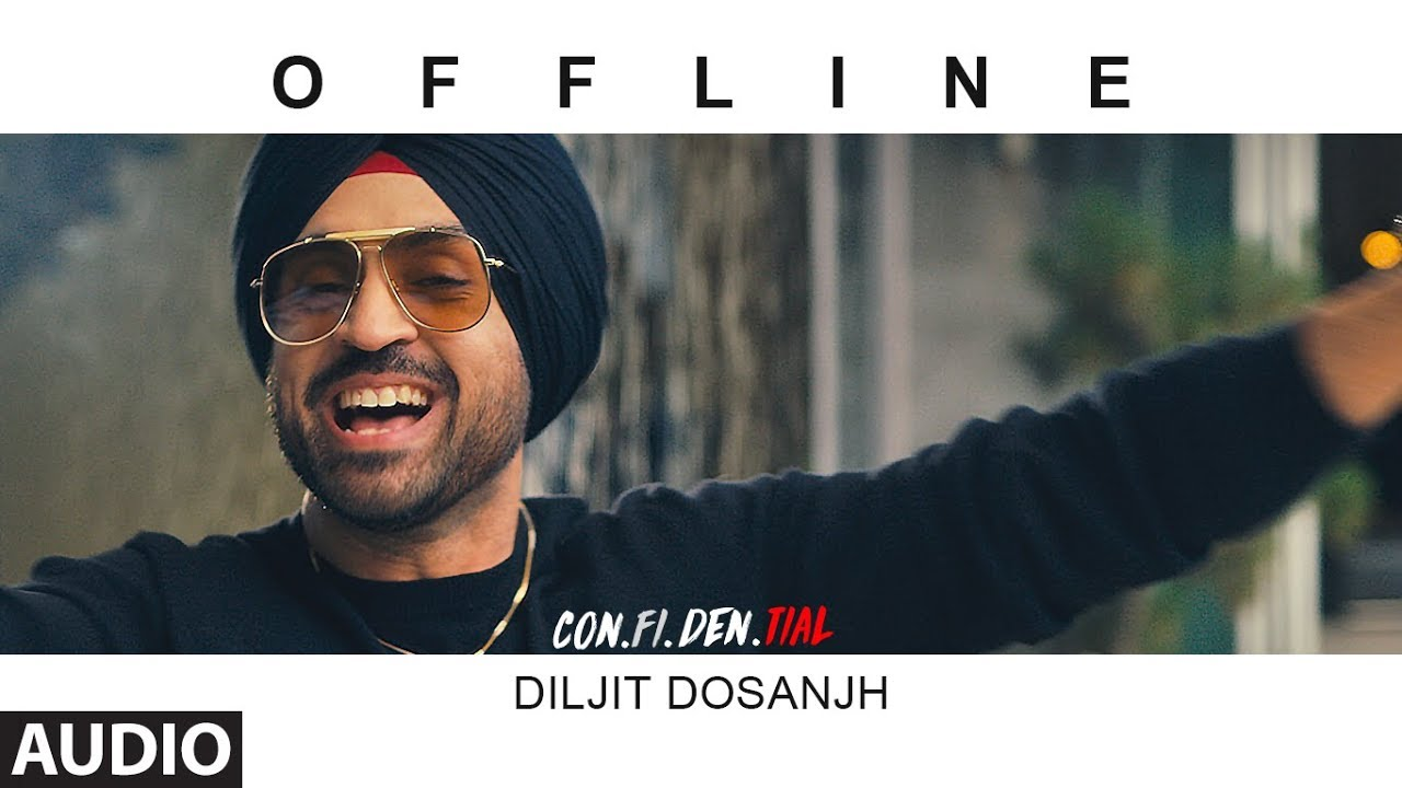 Download Offline Full Audio Song  | CON.FI.DEN.TIAL | Diljit Dosanjh | Latest Song 2018