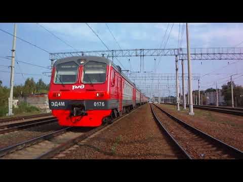 Куровская электричка на Ярославском направлении