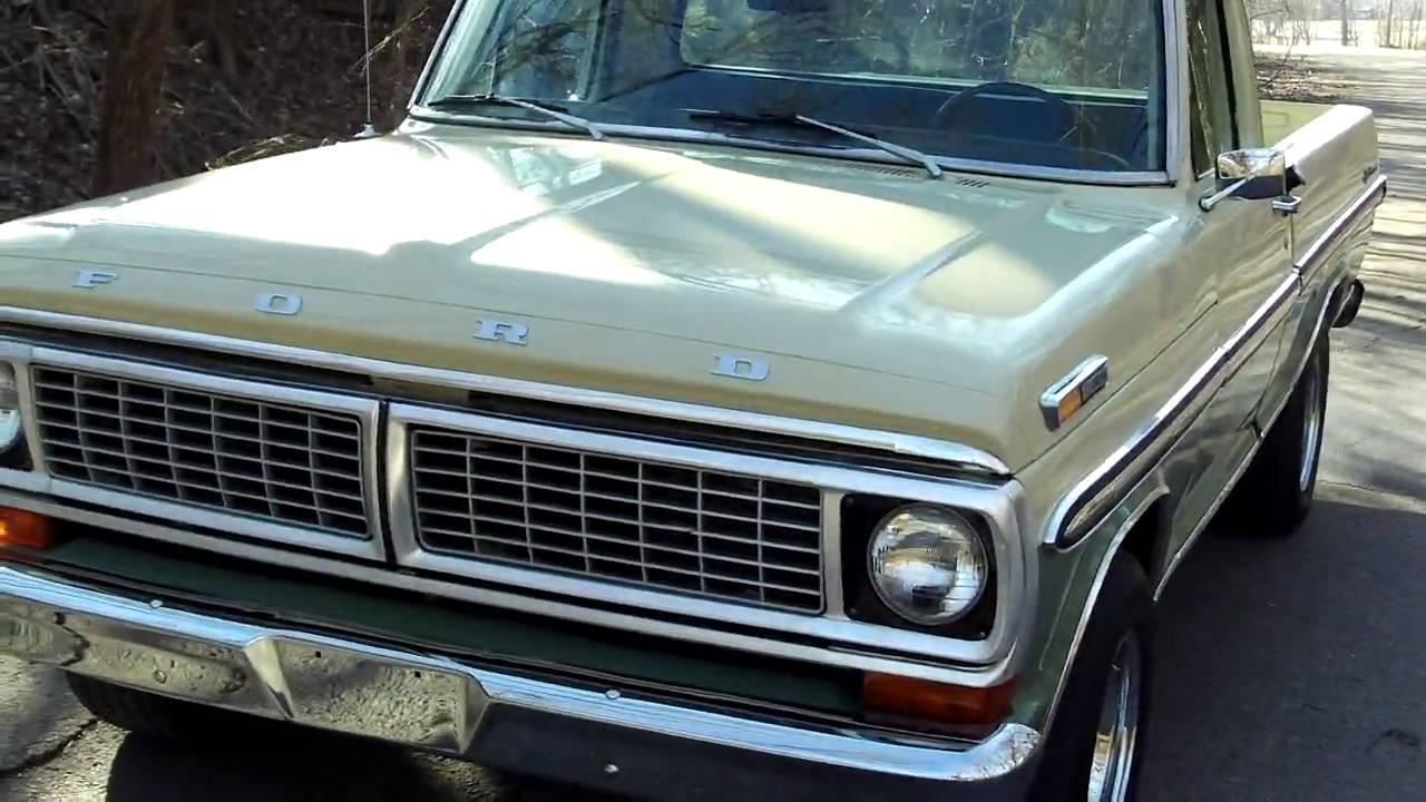 F I Coatings 1970 FORD F100 - YouTu...