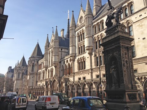 The Royal Courts of Justice - The largest court in Europe