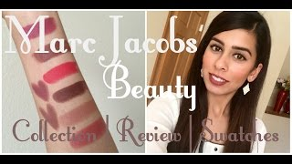 Marc Jacobs Beauty | Face & Lips | Collective Swatches, Demo, & Review | Chaitimewithmeesha