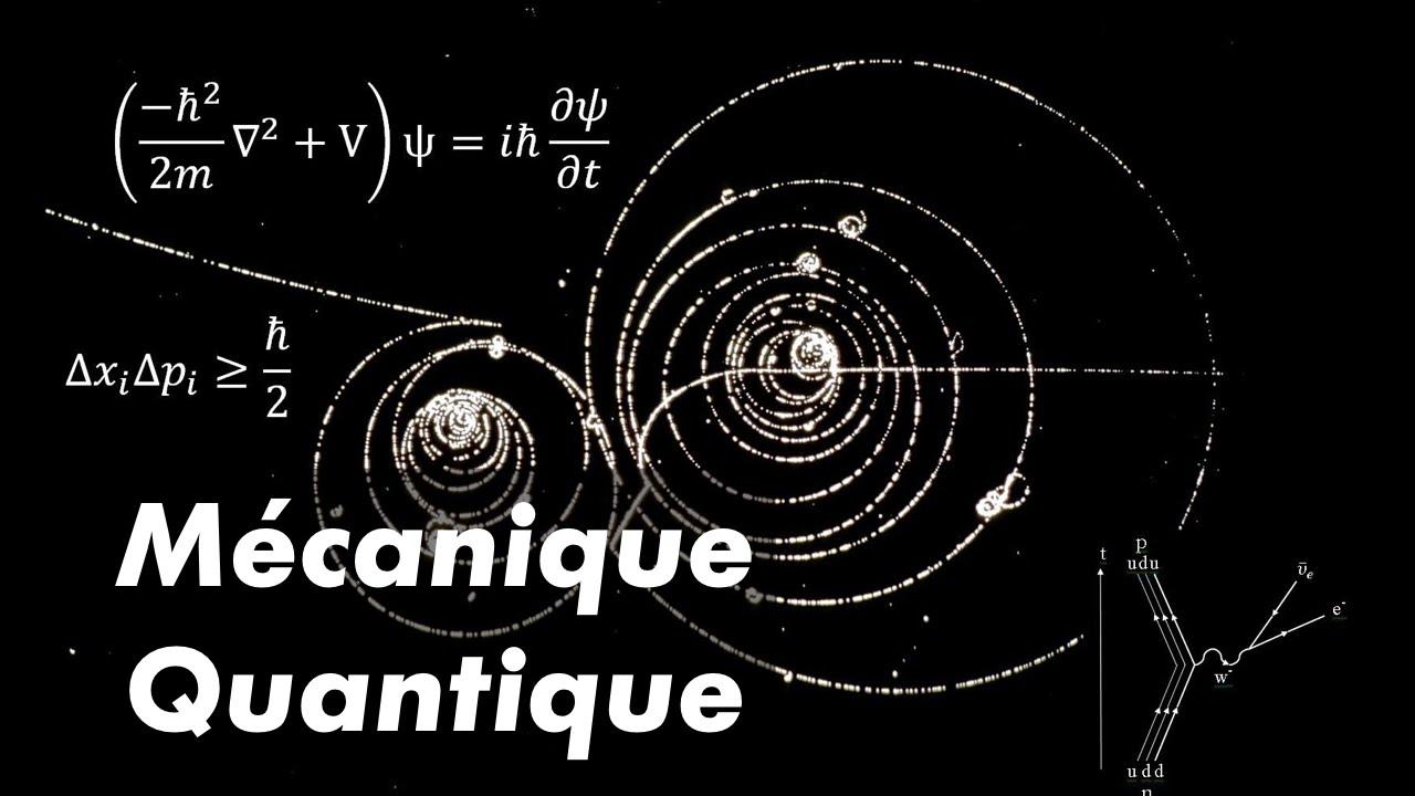 Les basiques de la mécanique quantique 1/2