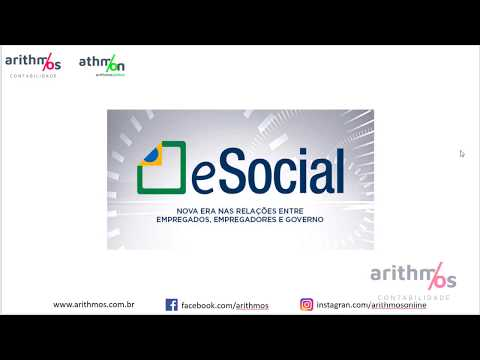 Видео O impacto que o esocial na contabilidade