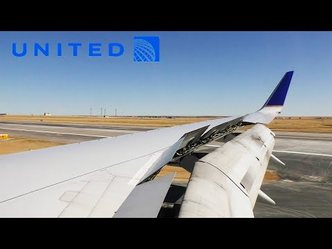 United Airlines Boeing 757-300 Landing In Denver (DEN)