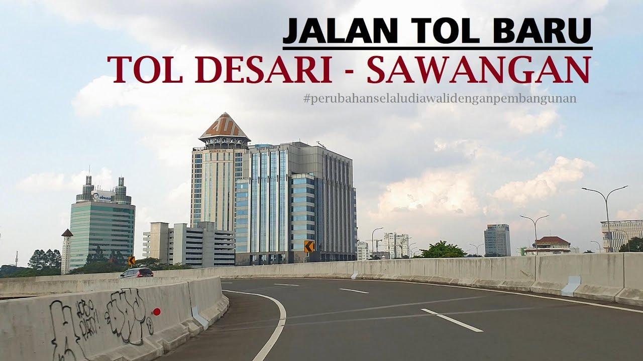 Driving Around ~ Tol Lingkar Luar Jakarta (JORR) to Tol Sawangan via Tol Depok Antasari (DESARI)