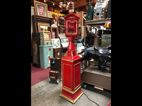 Vintage Gamewell Co. Cast Iron Fire Department Telegraph Call Box FOR SALE $3,995
