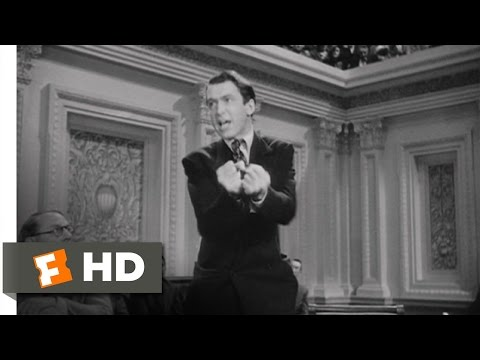 I Will Not Yield! - Mr. Smith Goes to Washington (7/8) Movie CLIP (1939) HD