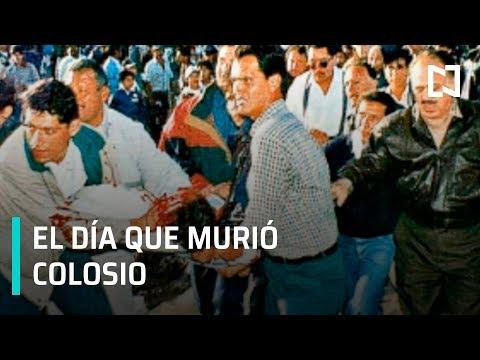 Luis Donaldo Colosio; momento exacto del asesinato de Colosio