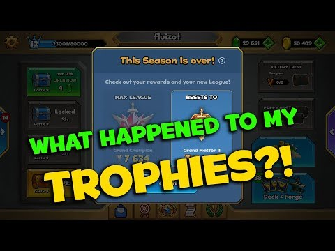 First Trophy Reset! Castle Crush