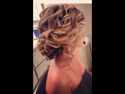 Messy Wedding Updo Youtube