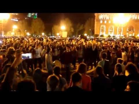 Ազգային պարեր Հանրապետության հրապարակում - ՄԱՍ 1 | Armenian Folk Dances In Republic Square - PART 1