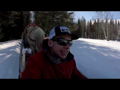 Ski China - Hemu Village Horse Sledding