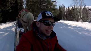 Ski China - Hemu Village Horse Sledding