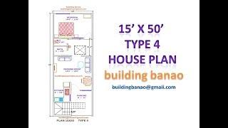Video 15X50 HOUSE PLAN TYPE4 download MP3, 3GP, MP4, WEBM, AVI, FLV November 2018