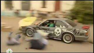 Хозяйка тайги-2 (2012) 18 серия - car chase scene