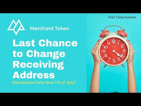 Merchant Token Update - Last Chance to Update Address