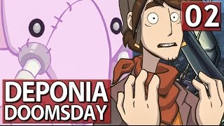 Deponia Doomsday #2 Back to Future ► Lets Play Deponia Doomsday deutsch