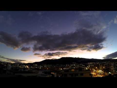 Timelapse QUITO - ECUADOR