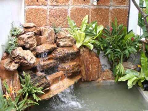 การออกแบบบ้านสวน วิธีการจัดสวนถาดชื้น
