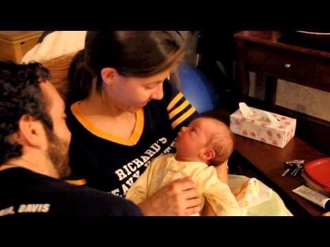 Asher Merrill Bates Birth Announcement Video   (r1)