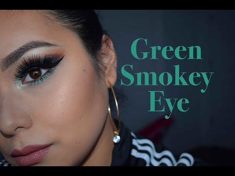Green Smokey Eye Makeup | Lali |