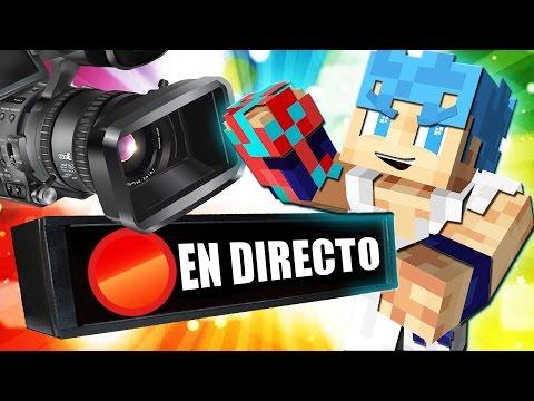 EN DIRECTO!! SKYWARS MINECRAFT PREMIUM Y NO PREMIUM 1.9 Y 1.8