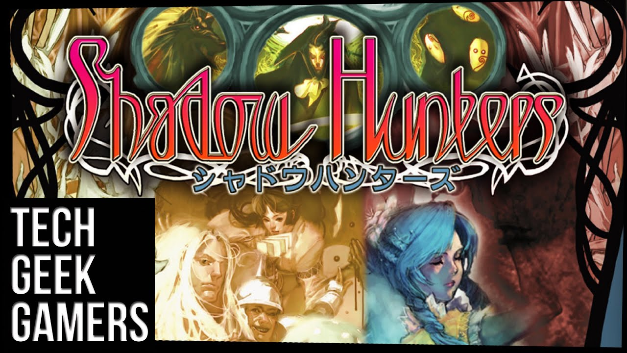 Let's Play Shadow Hunters – Board Game Play Through