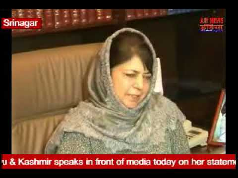 "Mehbooba tweeted, ""Dialogue is a necessity of the hour and the only way to go forward."""