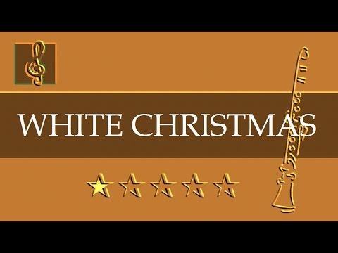 Clarinet & Guitar Duet - Christmas song - White Christmas (Sheet Music - Guitar Chords)