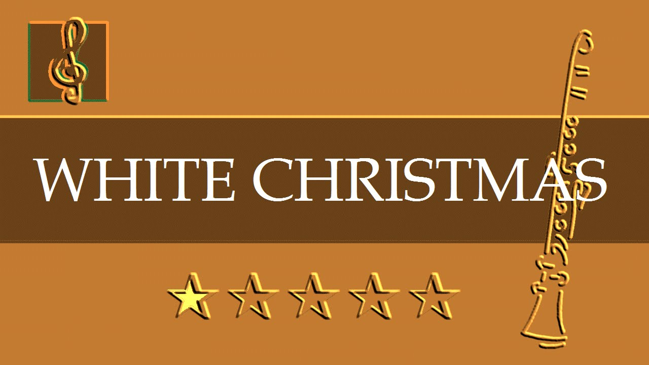 Clarinet Guitar Duet Christmas Song White Christmas Sheet