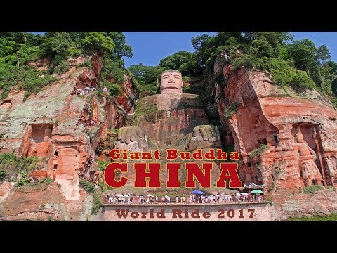 WORLD RIDE 2017|| EP. 19 || CHINA,Leshan to Chengdu