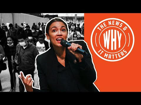 30K Immigrants Released into U.S. AOC Says It's NOT a 'SURGE' | The News & Why It