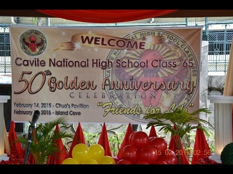 CNHS 65 Golden Jubilee Dinner Dance at Island Cove Resort Part 1 of 2 parts