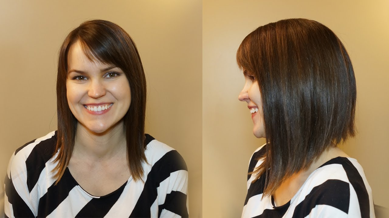 Women Hairstyles: HOW TO CUT WOMENS HAIR // DRAMATIC BOB HAIRCUT