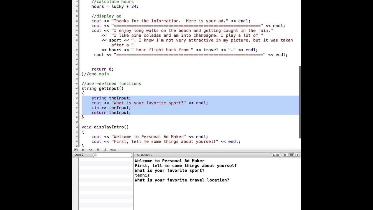 C++ string