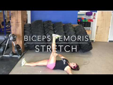 Tight Hamstrings - Biceps Femoris Stretch
