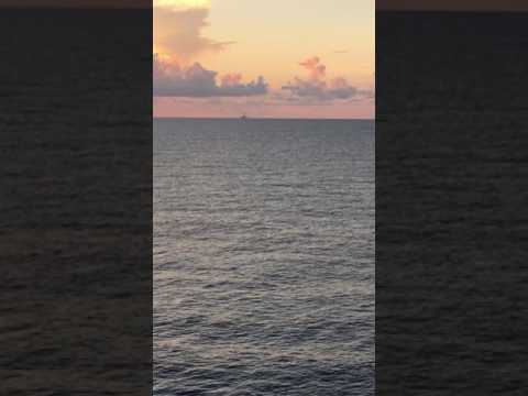 US Gulf of Mexico Sunset, Seadrill West Auriga