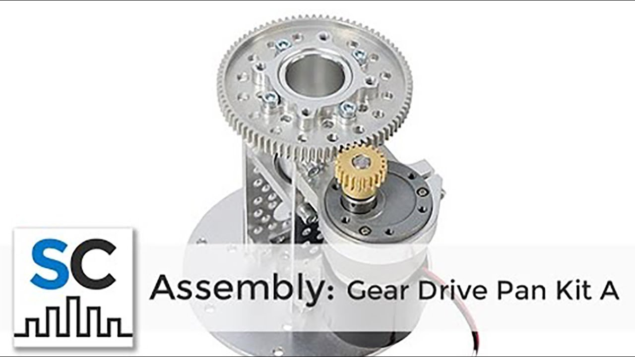 Actobotics® Gear Drive Pan Kit Assembly #637168