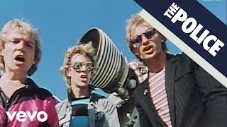The Police - Walking On The Moon Video