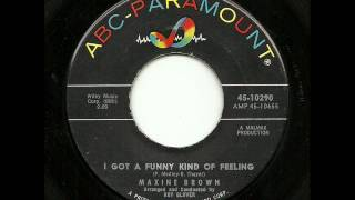 Maxine Brown - I Got A Funny Kind Of Feeling (ABC-Paramount)