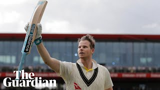 'I had some luck': Australia's Steve Smith on Ashes double century